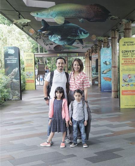 Aliya & family