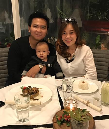 Jihan & family