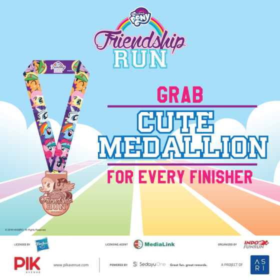 Racepack-Medal