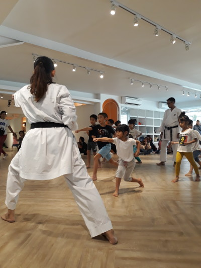 Karate for Kids with Ms. Jenny