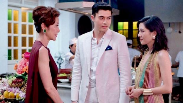 Scene saat Rachel Wu bertemu Ibu dari Nick.