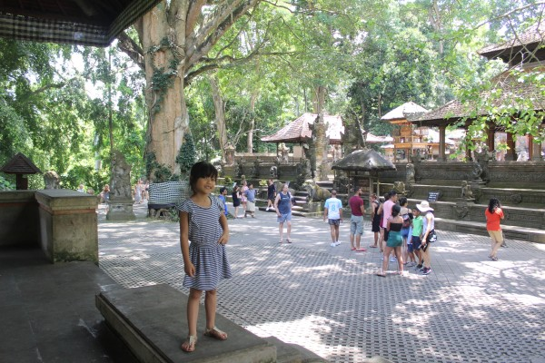 Pura di dalam Monkey Forest