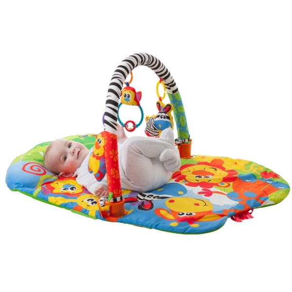 5-in-1 Safari Play Gym Lifestyle Image 1
