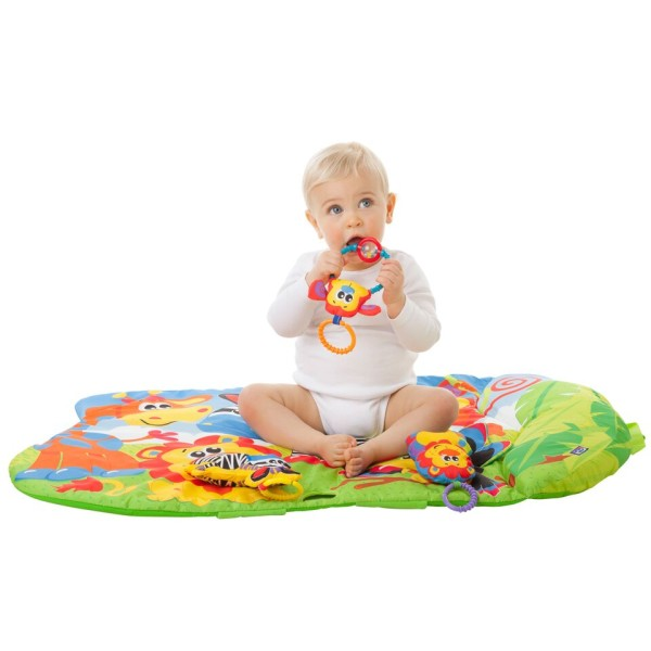 5-in-1 Safari Play Gym Lifestyle Image 3