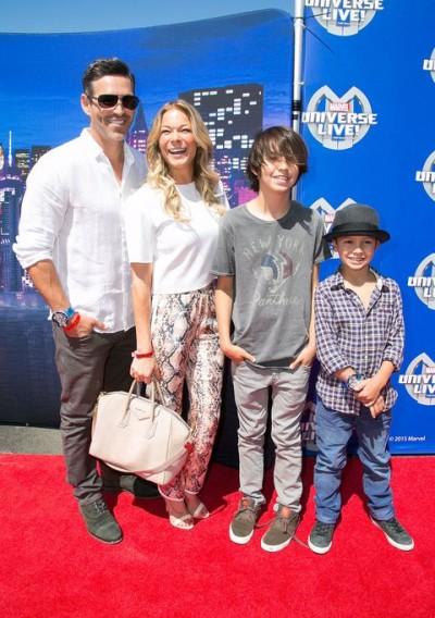 LeAnn Rimes & family