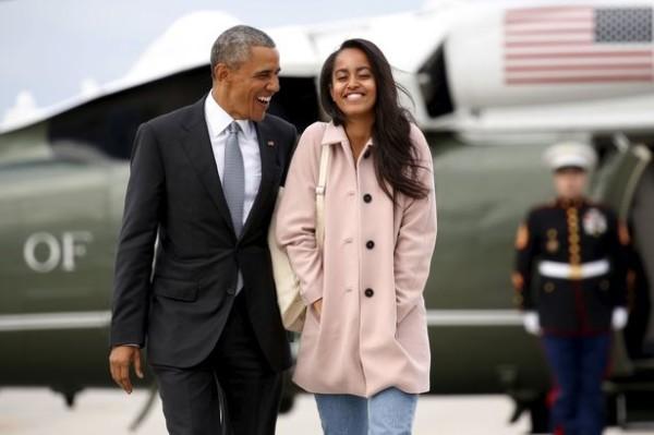 Barack Obama & Malia