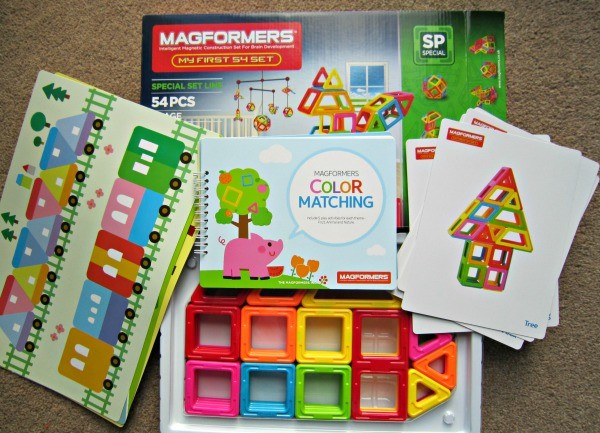 Magformers MF 54 Set Content